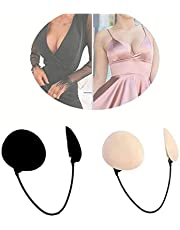 Frontless Bra Push Up-Push up Frontless Bra kit Wire, Strapless Backless Seamless Adjustable for Ultra Push Up Effect & Deep Plunge Bra Kit (Beige)