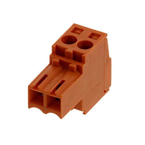 TERM BLOCK PLUG 2POS STR 3.5MM (Pack of 10)
