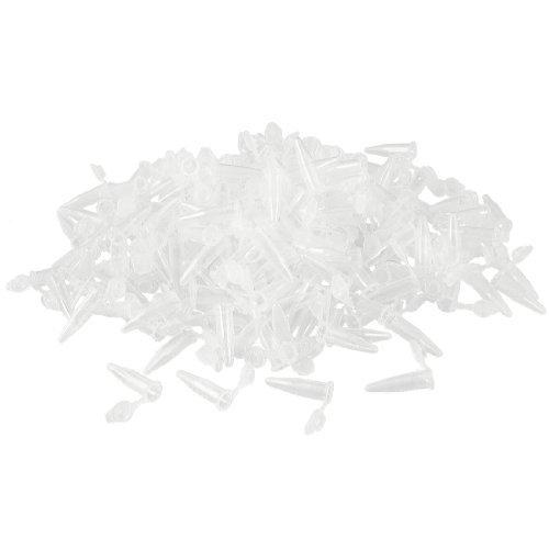 DealMux 1000 Pcs Laboratorio blanco claro marca impresa de centrí fuga de plá stico de 0, 5 ml Tubo DLM-B00AOAYU6G
