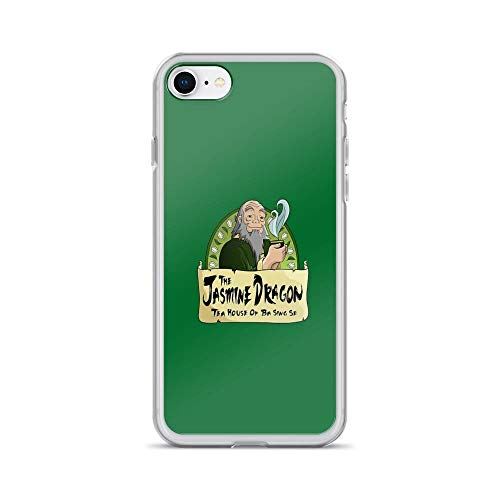 iPhone 7 Case iPhone 8 Case Clear Anti-Scratch The Jasmine Dragon Tea House Cover Phone Cases for iPhone 7/iPhone 8, Crystal Clear