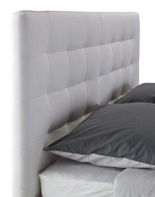 Lit 140x190 cm JAPP blanc: Amazon.fr: Cuisine & Maison