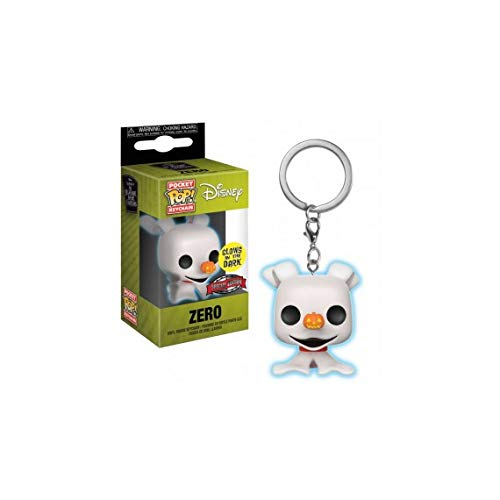 Funko Nightmare Before Christmas Zero Glow in The Dark Pop Keychain ()