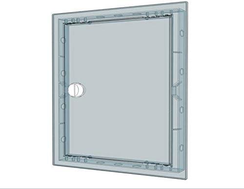 aluminio lacado blanco La ventilaci/ón gcsib1818140-y Rejilla integrado para chimeneas 180/x 180/mm