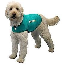 ThunderShirt Classic Dog Anxiety Jacket, Kelly Green, Small
