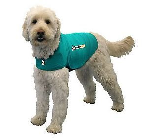 Thundershirt Dog Jacket for Anxiety Green X-large