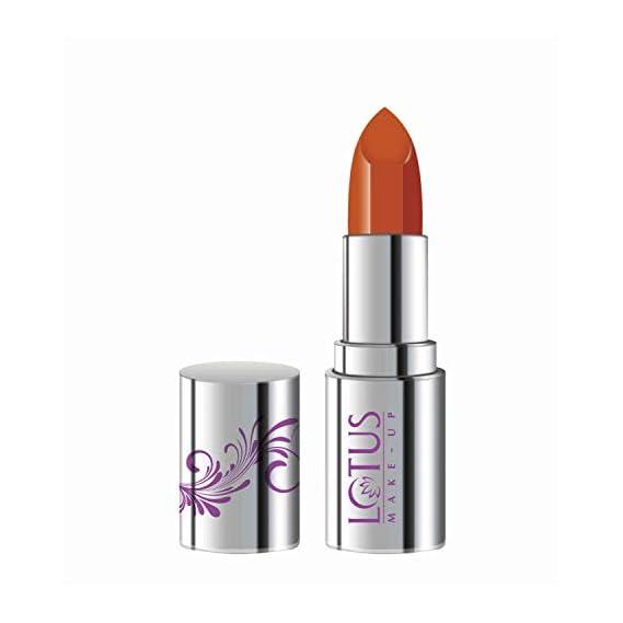 Lotus Makeup Ecostay Butter Matte Lip Color Bold Terracotta, Orange, 4 g