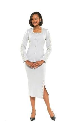 Amazon Com Divas Couture Women S Business Skirt Suit 1665 Clothing