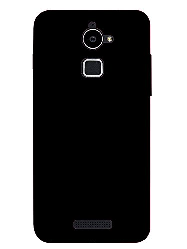 new styles eac6a fe410 TREECASE Rubberised Matte Hard Case Back Cover for COOLPAD Note 3 LITE (5.0  inch) - Royale Black
