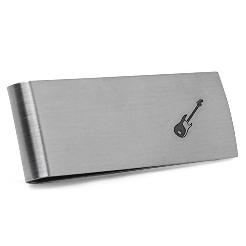 - Bass Guitar Money Clip | Stainless Steel Money Clip Laser Engraved In The USA.