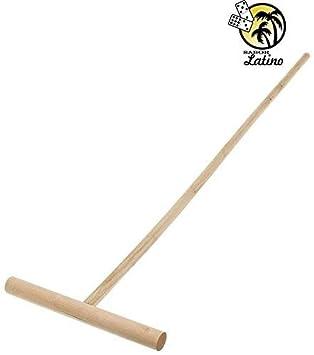 Cubana madera fregona Stick, Palo de trapiar.: Amazon.es: Hogar