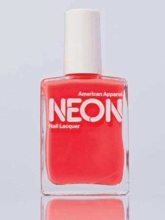 Amazon.com : American Apparel Neon Nail Polish Neon Red : Beauty