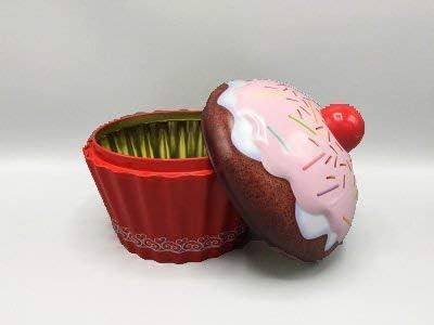 Caja para galletas y decoración Retro Box Cupcake Magdalena rosa ...