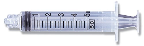 BD Company Medical Systems 309646 Luer-Lok Syringe Tip, 5...