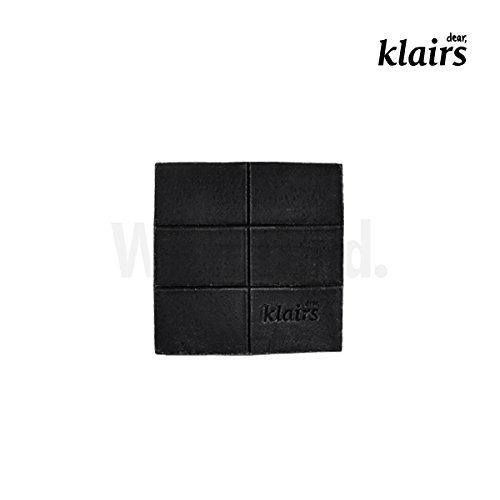 KLAIRS-Gentle-Black-Sugar-Charcoal-Soap-facial-soap-cleanser-120g