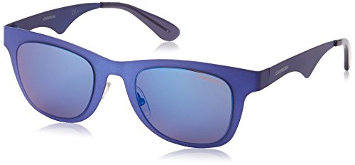 Carrera CA6000MTS Wayfarer Sunglasses,Matte Blue,49 - Carrera 22 Sunglasses