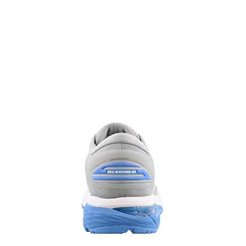 ASICS Gel-Kayano 25 Women's Shoe, Mid Grey/Blue Coast, 5 B US by ASICS (Image #4)
