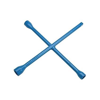 Unior 213/6 Cruz Llave para tuercas de rueda, hexagonal, 17 x 19