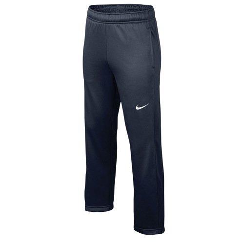 Nike Boys KO 3.0 Fleece Training Warmup Pants, Blue, Medium, 699895 451