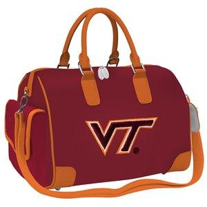 Charm14 NCAA Virginia Tech Hokies Deluxe Handbag - by Little Earth
