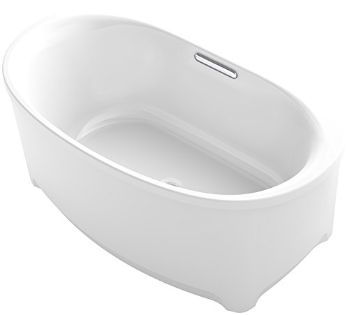 "UPC 885612410689, KOHLER K-5714-GCW-NY Underscore Oval Drop-In BubbleMassage Air Bath with Bask Heated Surface, Chromatherapy and Center Drain, 60 x 36"", Dune"