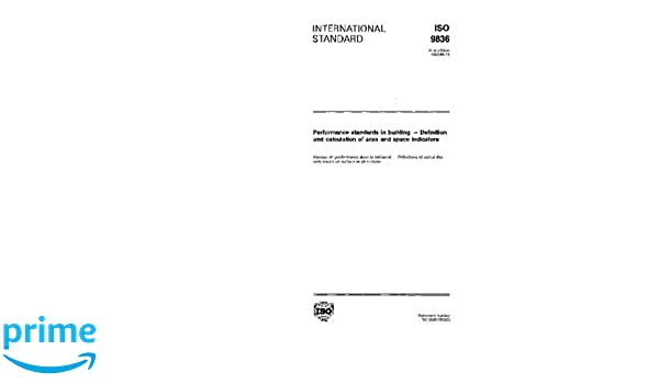 ISO 9836:1992, Performance standards in building