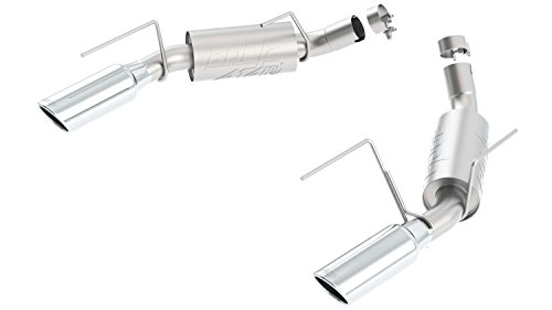Borla 11806 Aggressive Rear Section ATAK Exhaust System for Mustang GT 4.6L AT/MT RWD