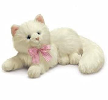 Russ Berrie Yomiko Nikki Cat - Gato de peluche (35,6 cm),