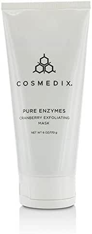 Cosmedix Pure Enzymes Cranberry Exfoliating Mask, 6 Fluid Ounce