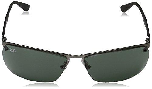 RB Ban Ray Sonnenbrille Matte 3550 Gunmetal WU4TFS7