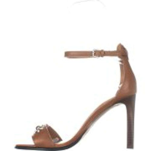 Coach Womens Indi Open Toe Casual Ankle Strap Sandals, Brown, Size 5.5