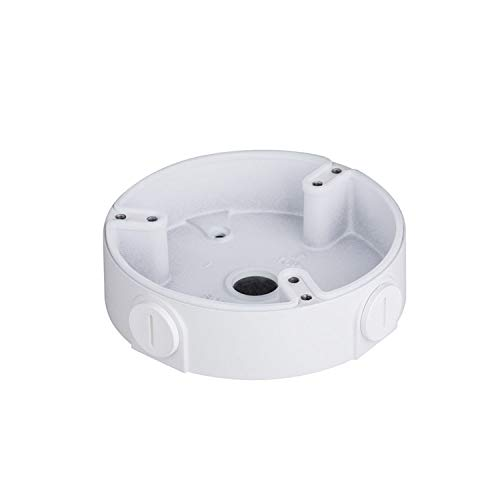 Amcrest AMCPFA136 Water-Proof Junction Box Dome Cameras, Compatible w/IPM-751B/W, IP2M-851B/W, IP2M-851EB/W, IP3M-956B/W, IP3M-956EB/W, IP4M-1028B/W, IP4M-1028EB/W, IP5M-1176E, IP8M-2493E