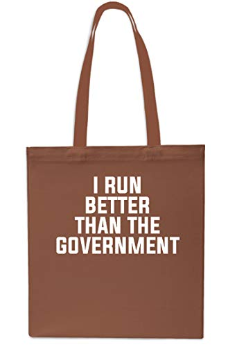 Than Tote Bag Run Government Beach Gym Better x38cm I Shopping 42cm The Red 10 Chestnut litres zwEXxq