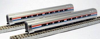 Set Passenger Amfleet - Kato USA Model Train Products Amfleet II Phase III Car Set A, Set of 2