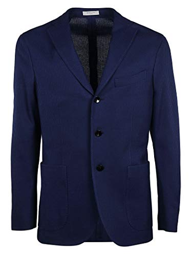 Boglioli Blazer Coton N2902ebnc0050740 Homme Bleu IwxH8qpw