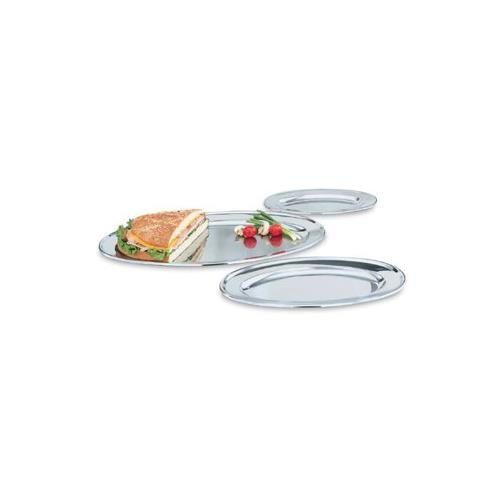Vollrath Oval Platters - Oval Mirror Finish S/S Tray, 12