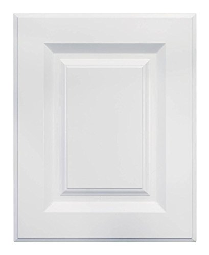 Cabinet Doors 'N' More 16'' X 22'' White RTF Raised Square Kitchen Cabinet Door by Cabinet Doors 'N' More