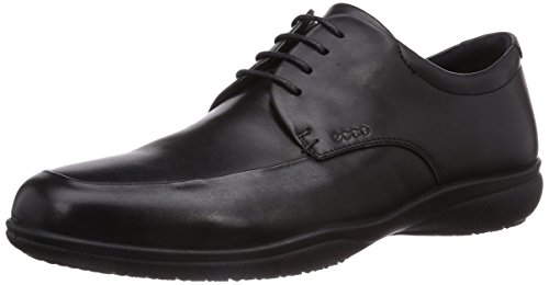 Ecco Mens Grenoble Gore-tex Cravatta Oxford Nero