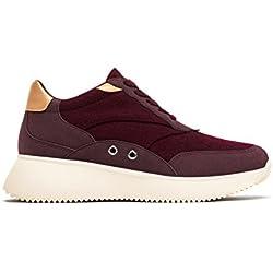 Zara Women Sneakers with contrasting felt 6712/201 (37 EU | 6.5 US | 4 UK)