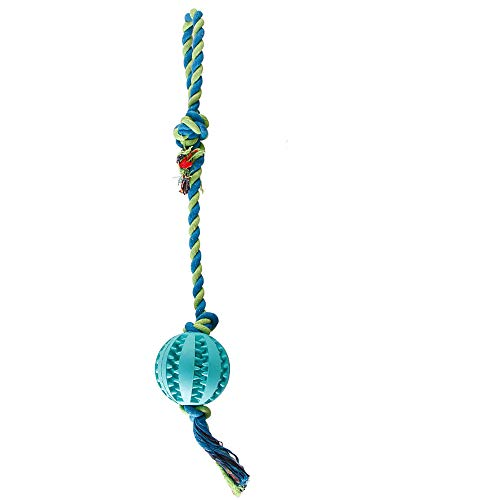 (Miweel Dog Tug Toys - Tug Rope with Handles Easy for Interaction, Dog Chew Toy for Aggressive Chewers, Suitable for Large Medium Small Dogs)