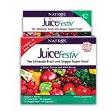 JuiceFestiv, 60 + 60 caps by Natrol (Pack of 3)