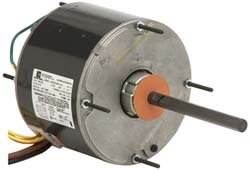 0.167 to 1/6 hp, 825 Max RPM, Permanent Split Cap Electric AC DC Motor 208-230 V Input, Single Phase, 48Y Frame, 1/2