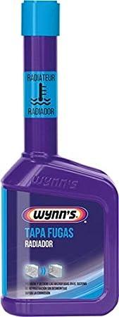 Wynns W55866 Tapa Fugas Radiador, Sistema de Refrigeración, Grietas, Coche, Fabricado en Bélgica, Aditivo, 325ml: Amazon.es: Coche y moto