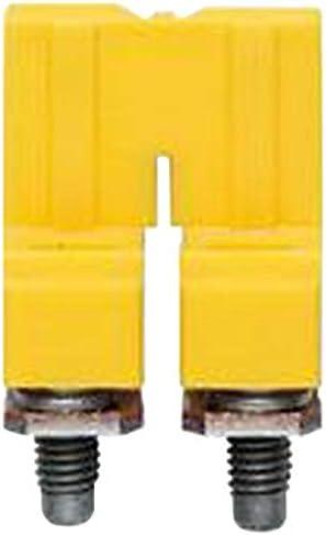 Jumper WTL 6//2 8 mm WDU 6 1052360000 WTL 6//3 2 Positions Jumper W Series, Busbar Pack of 20