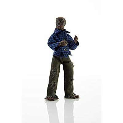 """Mego Action Figures, 8"""" The Wolfman, B&W (Limited Edition Collector'S Item): Toys & Games"""
