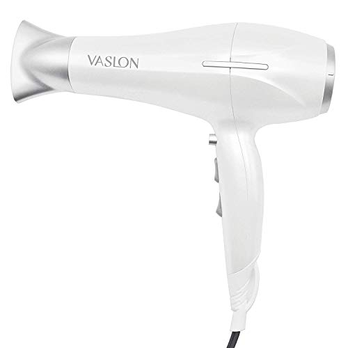 1875W Lightweight Negative Ions Hair Blow Dryer with Concentrator Nozzle 2 Speed and 3 Heat Settings Cool shot button DC Motor