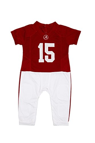 Fast Asleep Pjs Alabama Crimson Tide Baby Uniform Romper New (6-9 M)