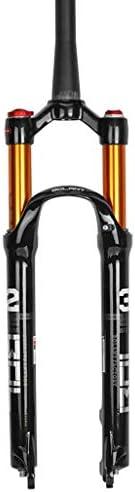 SN マウンテンバイク サスペンションフォーク、 1-1 / 8 ' 軽量 マグネシウム合金 MTB サスペンションロック ショルダー 旅行:100ミリメートル (Color : A, Size : 27.5inch)