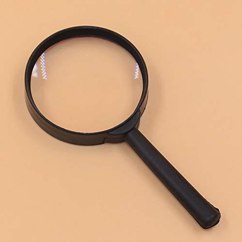 - Trenton 5X Handheld Magnifier Handle Magnifier Reading Magnifying Glass for Reading Book, Inspection, Coins, Insects, Rocks, Map, Crossword Puzzle