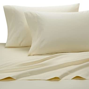 Egyptian Bedding Rayon from BAMBOO Sheet Set - Olympic Queen Size Ivory 1200 Thread Count Cotton Sheet Set (Deep Pocket)