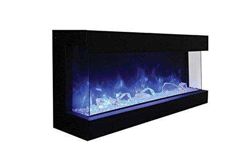 Amantii Tru-View-XL 60-TRU-VIEW-XL 3 Sided Electric Fireplace (60